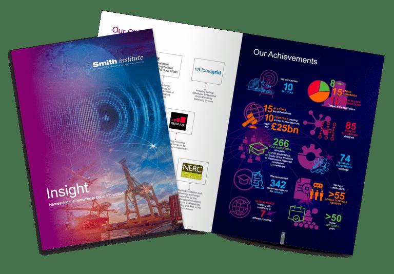 Smith Institute Insight Brochure design by Create22