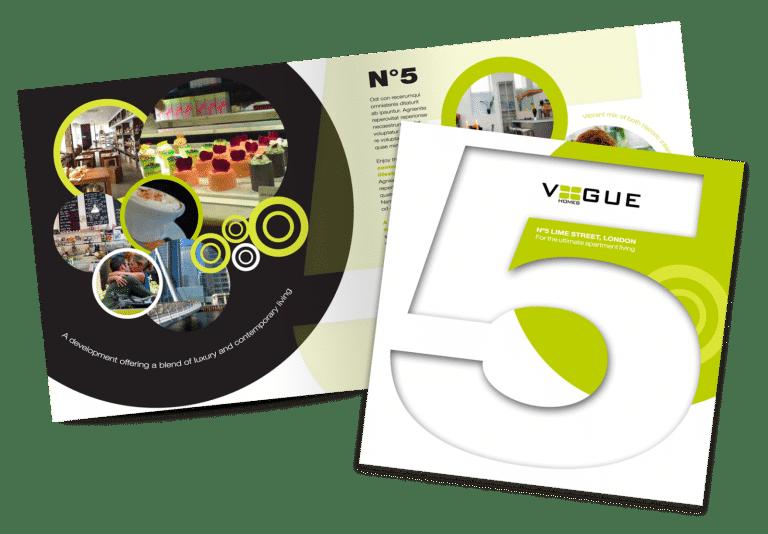 New development brochure concept designed by Create22