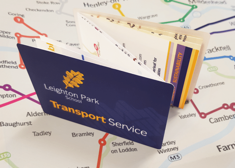 Leighton Park School Bus Route Map