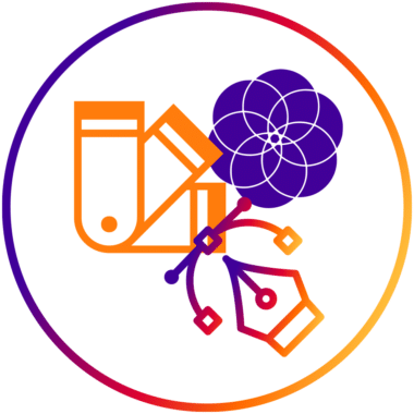 Logo design icon Create22